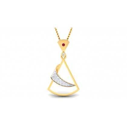 LALASA DIAMOND FASHION PENDANT in 18K Gold