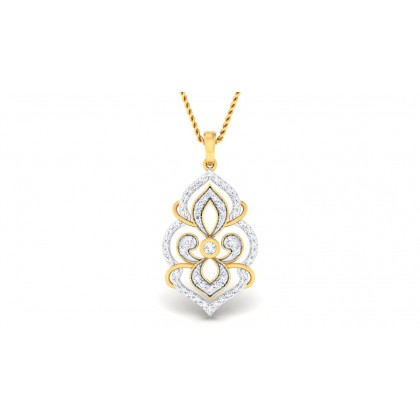 SANGYA DIAMOND FASHION PENDANT in 18K Gold