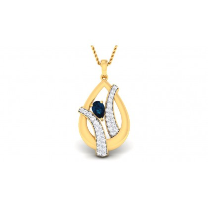 PARNAL DIAMOND FASHION PENDANT in 18K Gold