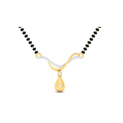 SARASA DIAMOND TANMANIYA PENDANT in 18K Gold