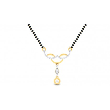 LAVANYA DIAMOND TANMANIYA PENDANT in 18K Gold