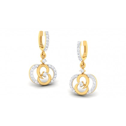 AMITI DIAMOND DROPS EARRINGS in 18K Gold