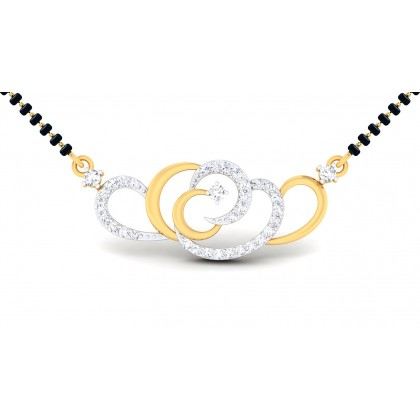ANULATA DIAMOND TANMANIYA PENDANT in 18K Gold