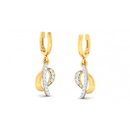 NIKI DIAMOND DROPS EARRINGS in 18K Gold