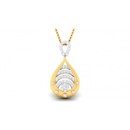 VANAJA DIAMOND FASHION PENDANT in 18K Gold