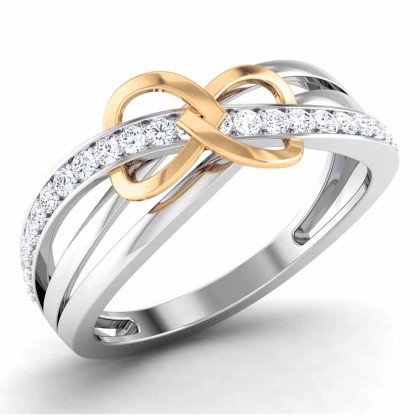 PETRA DIAMOND CASUAL RING in 18K Gold