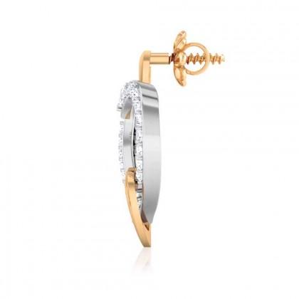 AARUSH DIAMOND STUDS EARRINGS in 18K Gold