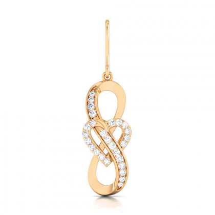 AKARSH DIAMOND DROPS EARRINGS in 18K Gold