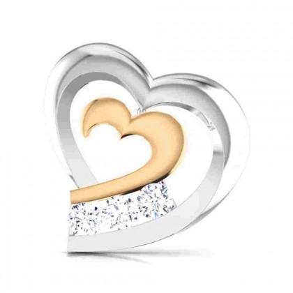 ARNAV DIAMOND STUDS EARRINGS in 18K Gold