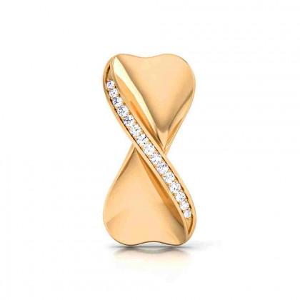 BHAVIN DIAMOND STUDS EARRINGS in 18K Gold