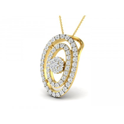 MACY DIAMOND FASHION PENDANT in 18K Gold