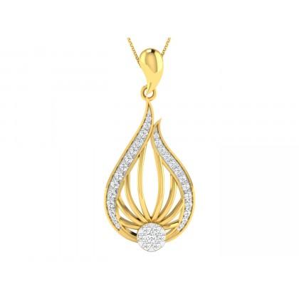 TRINA DIAMOND FASHION PENDANT in 18K Gold