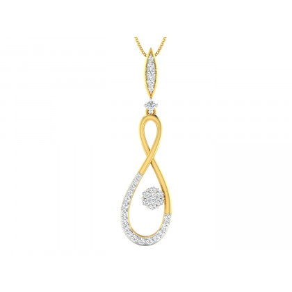 RINA DIAMOND FASHION PENDANT in 18K Gold