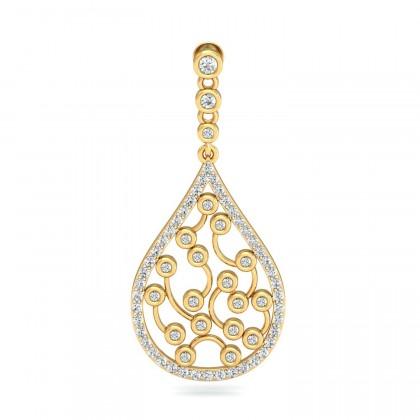 INGE DIAMOND DROPS EARRINGS in 18K Gold