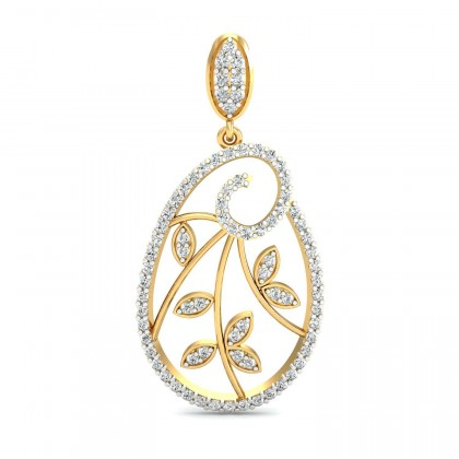 MARIS DIAMOND DROPS EARRINGS in 18K Gold