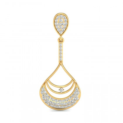 ANNAMAE DIAMOND DROPS EARRINGS in 18K Gold