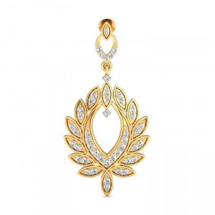 LAVINIA DIAMOND DROPS EARRINGS in 18K Gold