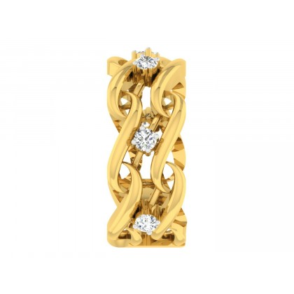 JEANE DIAMOND BANDS RING in 18K Gold