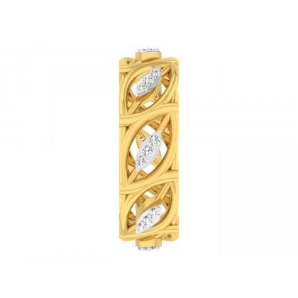 DESTINY DIAMOND BANDS RING in 18K Gold