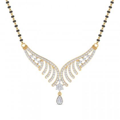 LANNIE DIAMOND TANMANIYA PENDANT in 18K Gold