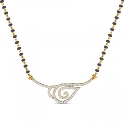CLAIRE DIAMOND TANMANIYA PENDANT in 18K Gold
