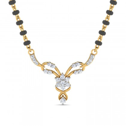 PAMELA DIAMOND TANMANIYA PENDANT in 18K Gold