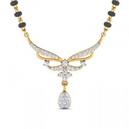 KIANA DIAMOND TANMANIYA PENDANT in 18K Gold