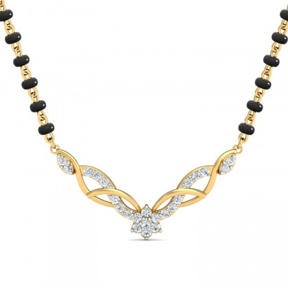 ARMINDA DIAMOND TANMANIYA PENDANT in 18K Gold