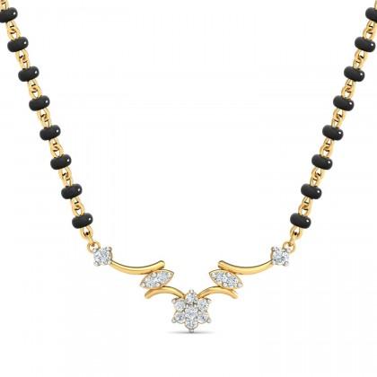 YESENIA DIAMOND TANMANIYA PENDANT in 18K Gold