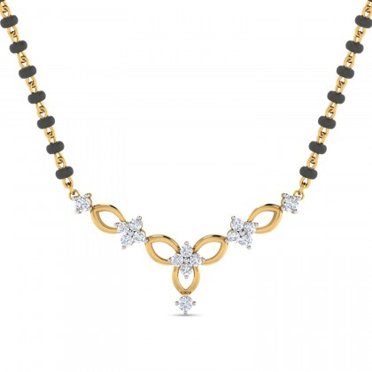 KATHLINE DIAMOND TANMANIYA PENDANT in 18K Gold