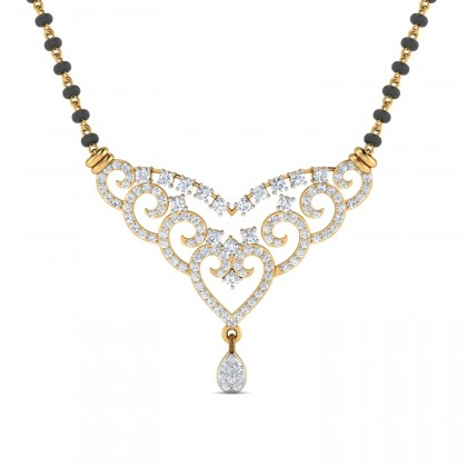 BERNARDA DIAMOND TANMANIYA PENDANT in 18K Gold