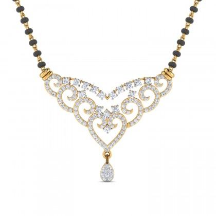 BERNARDA DIAMOND TANMANIYA PENDANT in 18K Gold