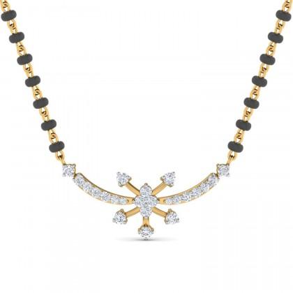 ROSALEE DIAMOND TANMANIYA PENDANT in 18K Gold