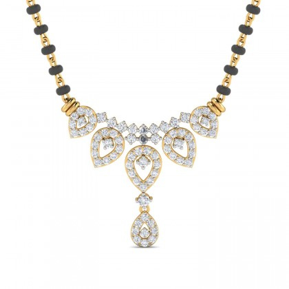 CHRISSY DIAMOND TANMANIYA PENDANT in 18K Gold