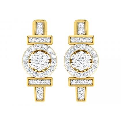 CHERRI DIAMOND DROPS EARRINGS in 18K Gold