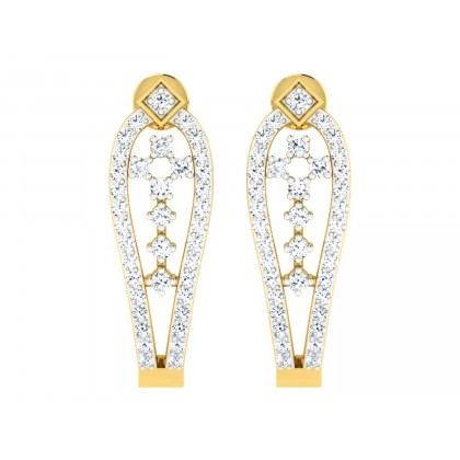 CHRISTA DIAMOND DROPS EARRINGS in 18K Gold