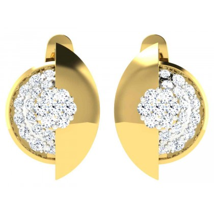 LONDA DIAMOND DROPS EARRINGS in 18K Gold