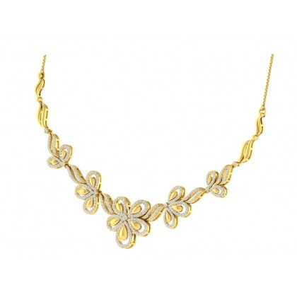 MIRNA DIAMOND  NECKLACE in 18K Gold