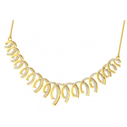 TAWANA DIAMOND  NECKLACE in 18K Gold