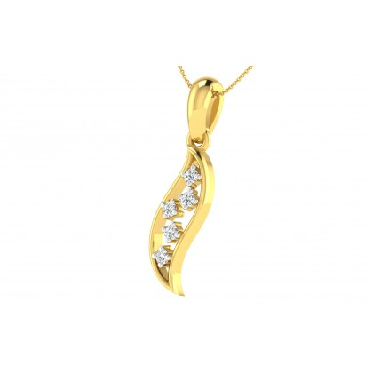 ARDELL DIAMOND FASHION PENDANT in 18K Gold