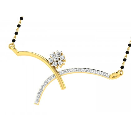HERMILA DIAMOND TANMANIYA PENDANT in 18K Gold