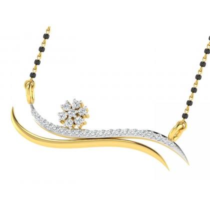 GEORGANN DIAMOND TANMANIYA PENDANT in 18K Gold