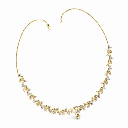 ALESSANDRA DIAMOND  NECKLACE in 18K Gold