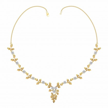 JOSPHINE DIAMOND  NECKLACE in 18K Gold