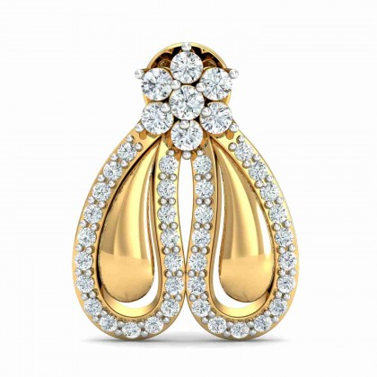 LATRINA DIAMOND DROPS EARRINGS in 18K Gold