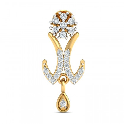 EURA DIAMOND DROPS EARRINGS in 18K Gold