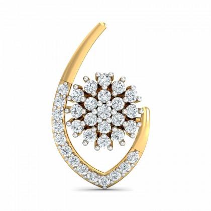TAMMY DIAMOND STUDS EARRINGS in 18K Gold