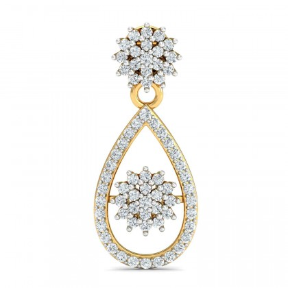 TORRI DIAMOND DROPS EARRINGS in 18K Gold