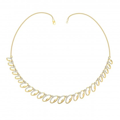 WILLODEAN DIAMOND  NECKLACE in 18K Gold