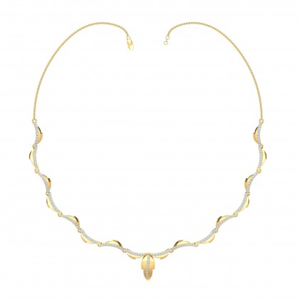 MELODI DIAMOND  NECKLACE in 18K Gold